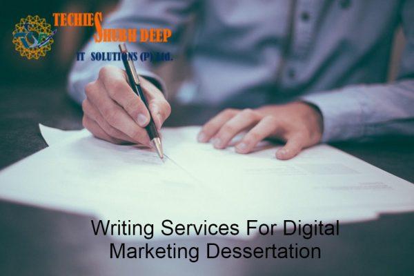 Writing Service for Digital Marketing Dissertation