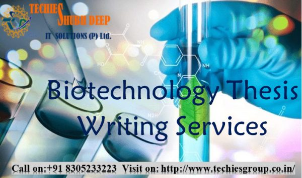 Biotechnology Thesis Writing Service