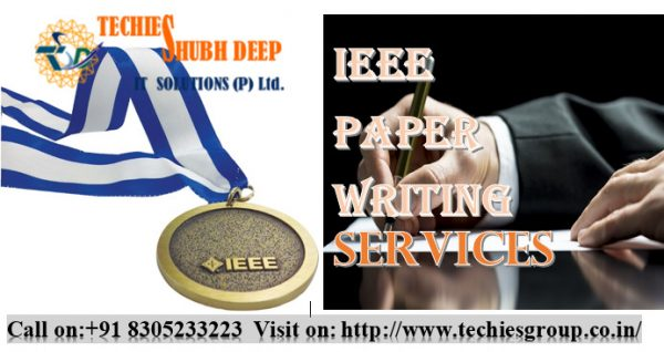IEEE Paper Writing Services In India
