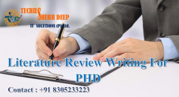 Literature Review Writing for PHD services