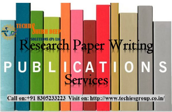 Research Paper Writing And Publication services