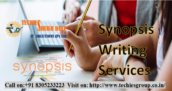 Synopsis Writing Services In India